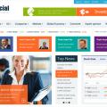 Шаблон Joomla SJ Financial